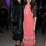 Bianca Brandolini D'Adda and Coco Brandolini d'Adda at the Louis Vuitton Marc Jacobs exhibit.