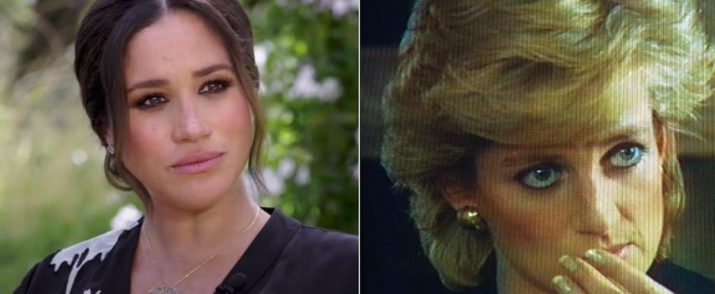 Meghan Markle's Eyeliner on Oprah Was Like Princess Diana's