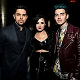 Demi Lovato Casually Hanging With Her Ex Joe Jonas and Then-Boyfriend, Wilmer Valderrama