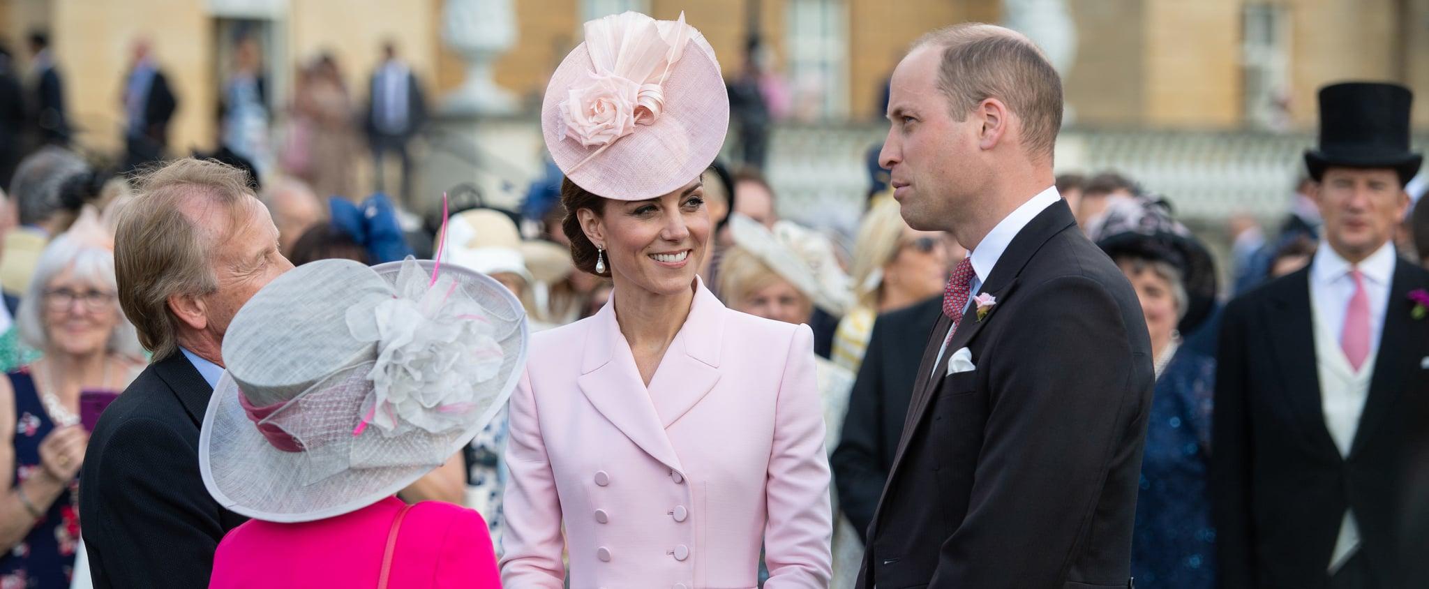 Kate Middleton Pink Alexander McQueen Coat Dress May 2019