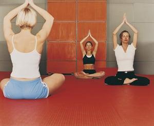 Bachelorette Party Idea:  Private Yoga Class