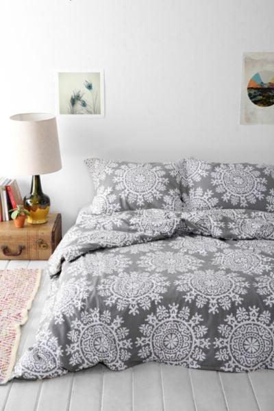 fall bedding popsugar home. Black Bedroom Furniture Sets. Home Design Ideas