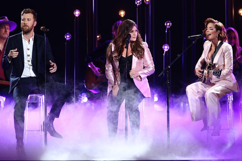 Halsey at the 2019 CMA Awards