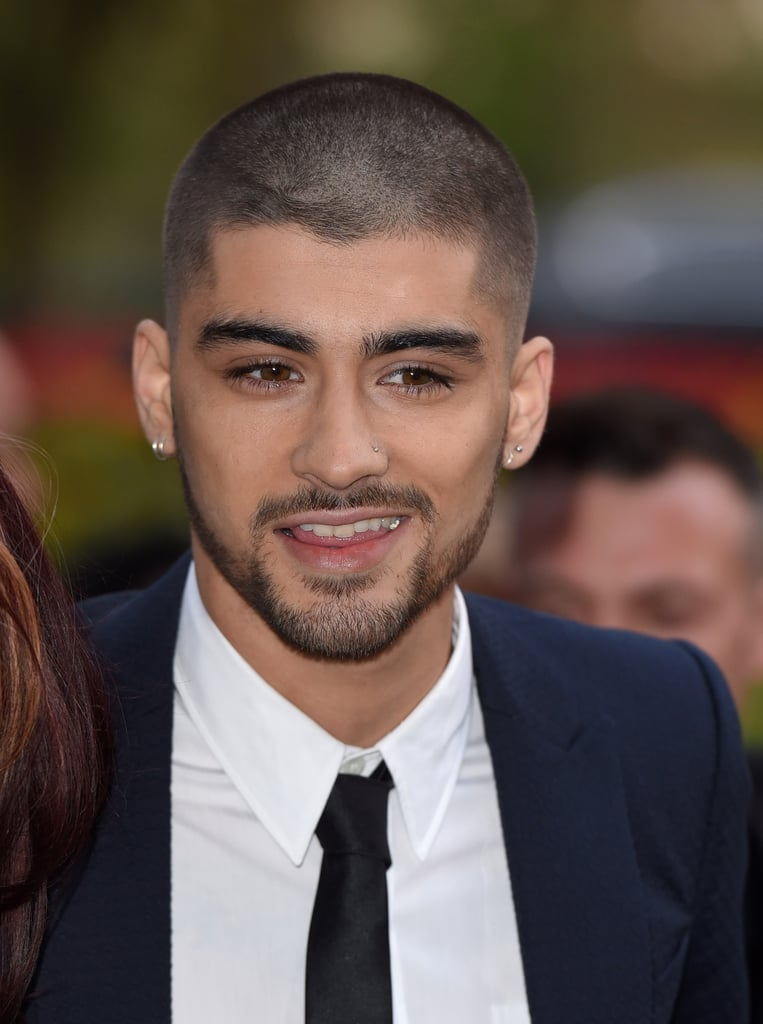 Pictures of Zayn Malik With Shaved Head at Asian Awards
