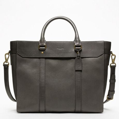 Coach's men's line can do no wrong in my eyes, and the moment I saw the New Crosby Business Tote ($568), I actually stopped breathing a bit. It's everything I want in a daytime bag: something large enough to hold all of my stuff while also coming in a rugged color and a durable leather, so I know that it will stand up to the wear I'm going to put it through. Extra points for the shoulder strap — that's the best.  — Robert Khederian, fashion editorial assistant