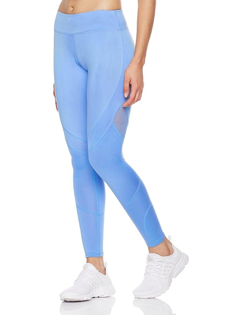 Mint Lilac Women S High Elastic Mesh Workout Pants Best