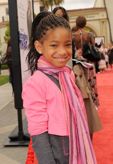 willow smith(will smith daughter)attends ''imagine that''premiere