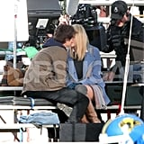 Pictures of Andrew Garfield As Spider-Man Kissing Emma Stone