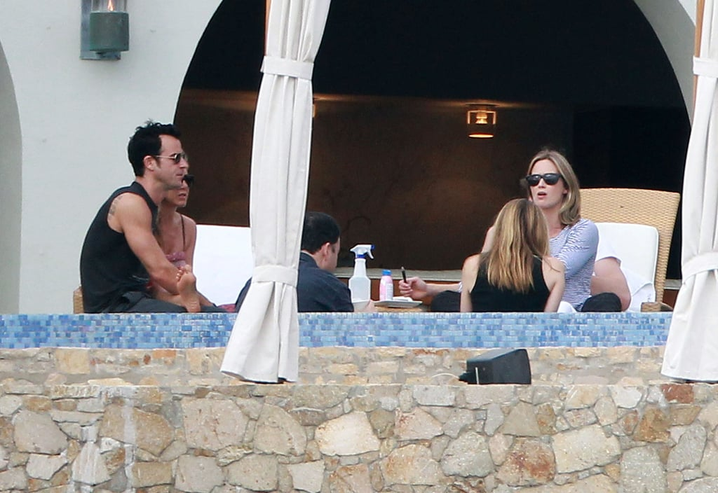 Bikini-Clad Jennifer and Shirtless Justin Welcome John and Emily to Cabo