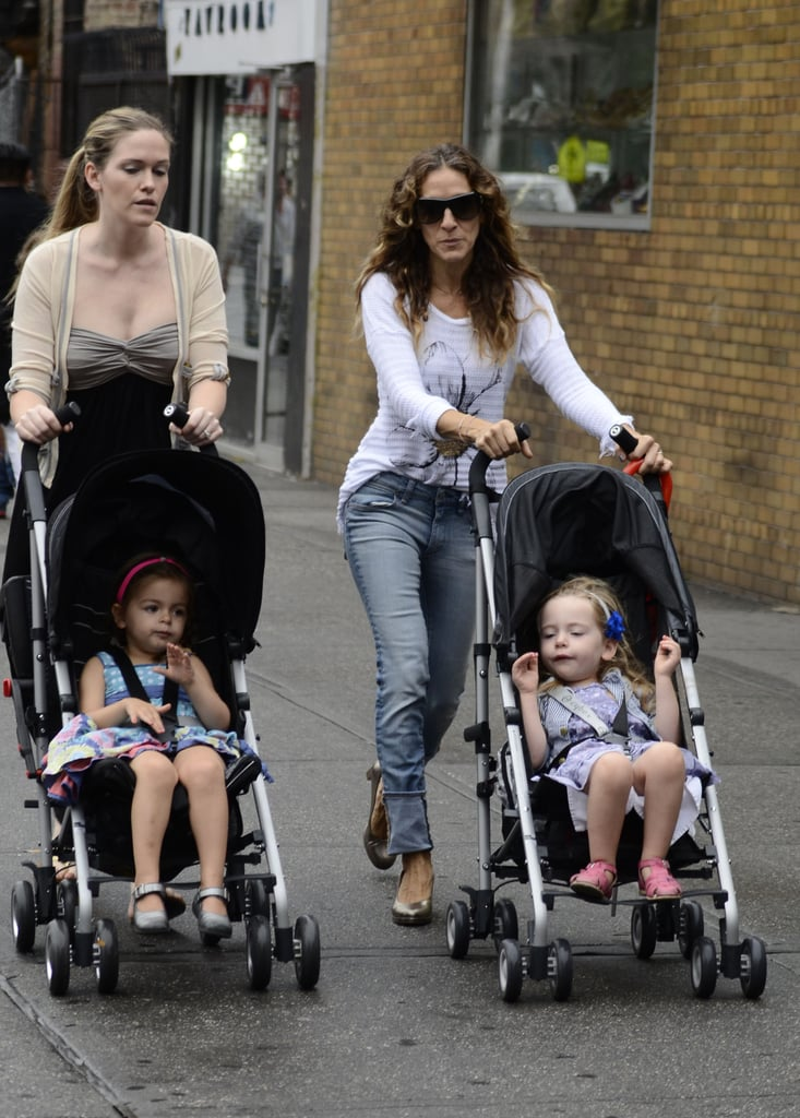 Sarah Jessica Parker had an outing with the twins in NYC.