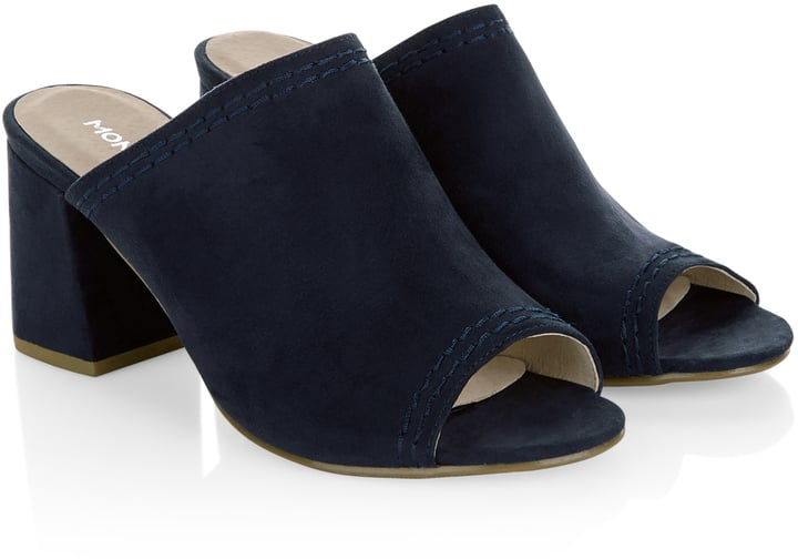 Monsoon Emma Block Heel Mules