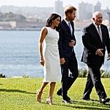 Meghan Markle Wearing Princess Diana's Jewellery