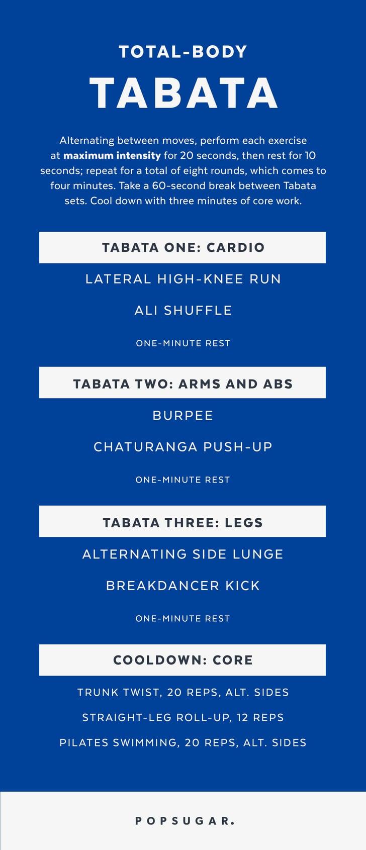 Total-Body Tabata | Printable Bodyweight Workouts ...