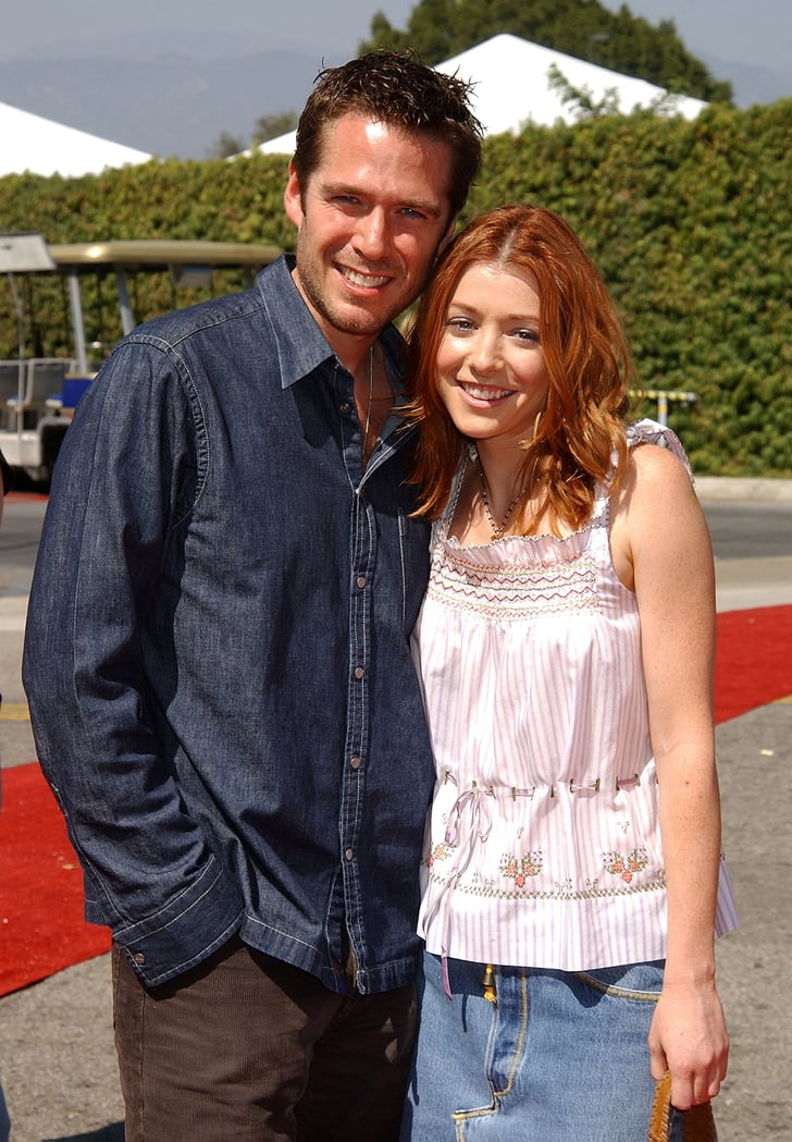 Alexis Denisof And Alyson Hannigan, 2002  Couples At Teen -8744