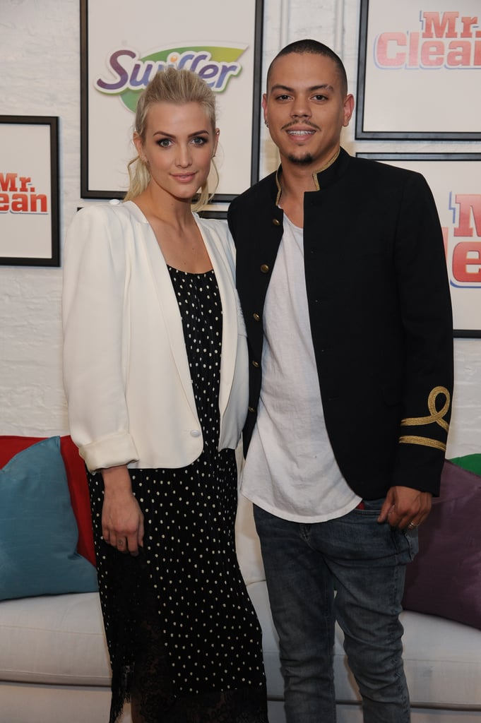 "Ashlee Simpson and Evan Ross were as cute as can be when they popped up at a Swiffer and Mr. Clean event in NYC on Tuesday night. The couple, who tied the knot nearly two years ago, was all smiles as they nuzzled up to one another and snuck in a quick kiss on the red carpet. Later that evening, the mother of two took to Instagram to share a photo from the cleaning workshop, writing, ""My hubby @realevanross and I had fun learning some Clean Slate cleaning tips from the expert @mrsilverscott, because it can be hard to stay on top of it with two beautiful babies in the house."" This is just the latest we've seen from the pair since their ski trip to Park City, UT, back in March, though both Evan and Ashlee have been active on Instagram, constantly uploading sweet photos from their home life."
