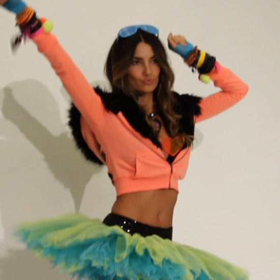 Victoria's Secret Angel Lily Aldridge Model Fitting