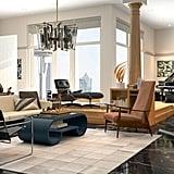 Frasier-Inspired Modern-Style Living Room