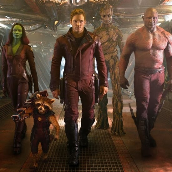 Guardians of the Galaxy Cast Short Interview