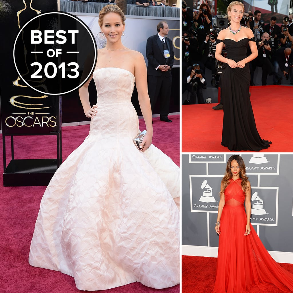 Best red carpet dresses of 2013 winners popsugar fashion - Dresses from the red carpet ...
