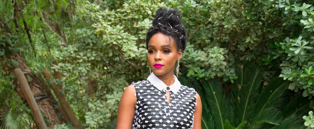 If You Stare Long Enough at Janelle Monáe's Hair You Might Get the Hidden Message