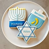 Personalized Hanukkah Cookies