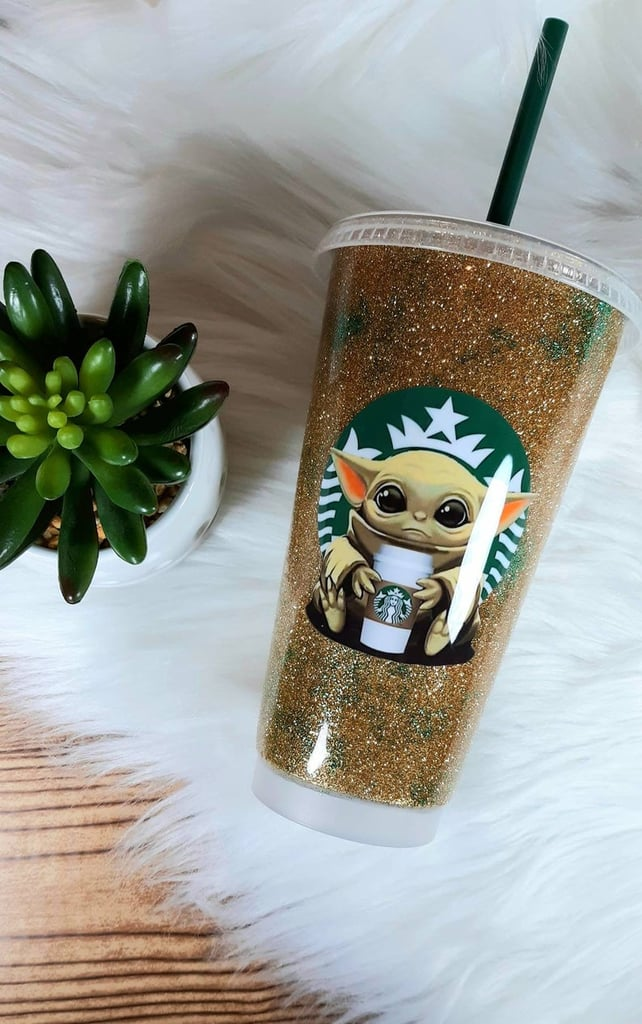 This Baby Yoda Tumbler Is So Cute, It Hurts