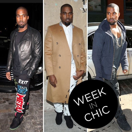 Style Stalking Kanye West's Week in Chic. Kim Who?