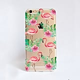 Pink Flamingo iPhone Case ($16)