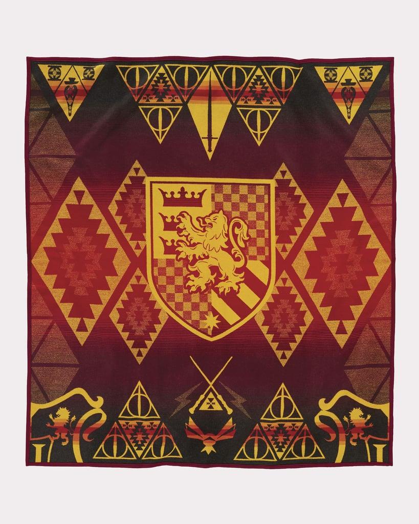 Harry Potter Gryffindor Blanket ($299)