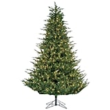 Sterling 9 Ft. Pre-Lit Natural Cut Upswept Chesterfield Spruce Artificial Christmas Tree with Power Pole and Clear Lights ($726)