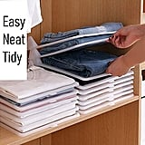 Foldable Stackable Folded T-Shirt Clothing Organizer