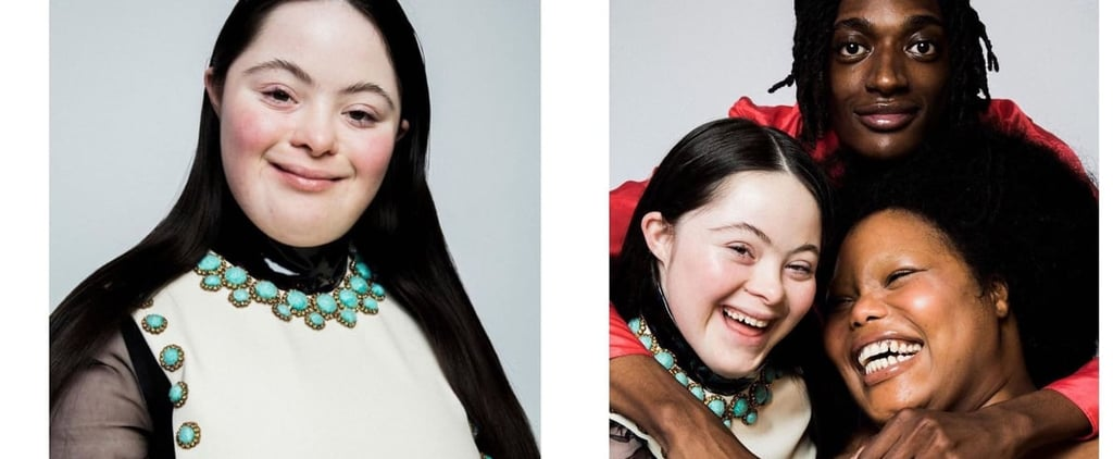 Gucci L'Obscur Mascara Campaign Stars Down's Syndrome Model