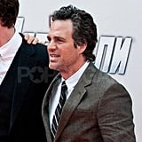 Mark Ruffalo plays The Hulk in The Avengers.