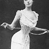 This is the look of an Edwardian corset, which is the period of Downton Abbey before WWI.