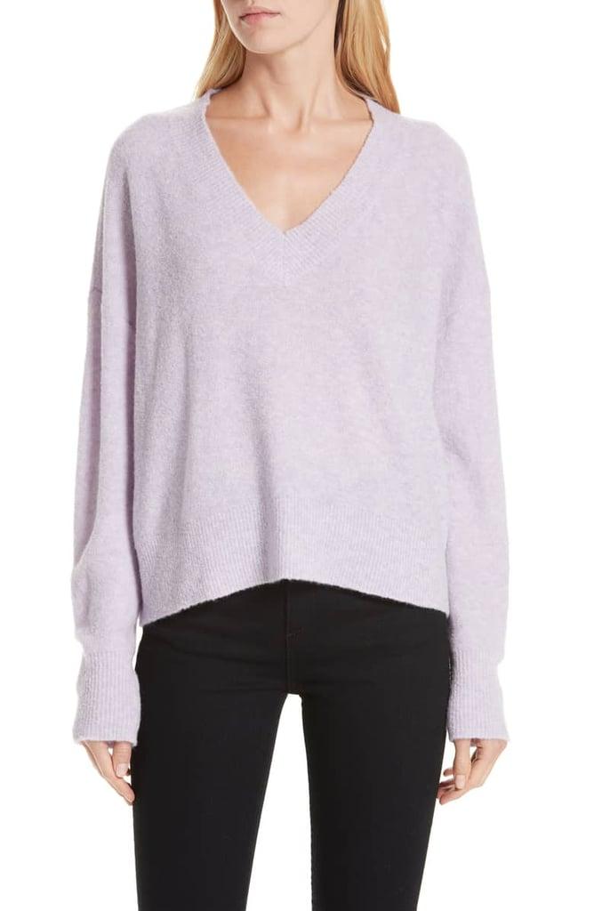 Nordstrom Signature Cashmere Blend Bouclé Sweater