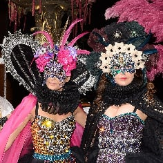Dolce & Gabbana Throws Couture Fashion Week Masked Ball