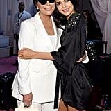 Kris Jenner at the 2018 Victoria's Secret Fashion Show