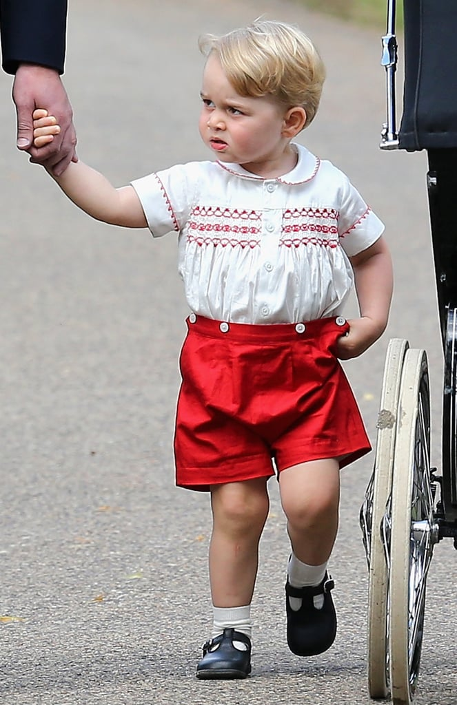 The Many Adorable Faces of Prince George