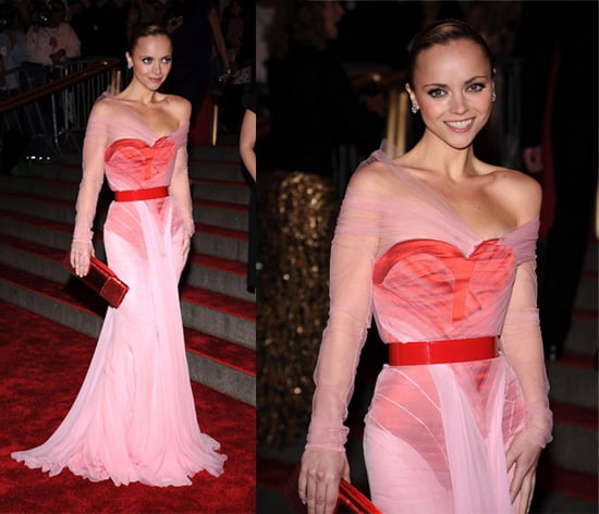 The Met's Costume Institute Gala: Christina Ricci