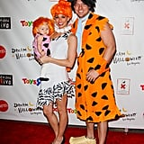 Melissa Rycroft and Her Family as the Flintstones