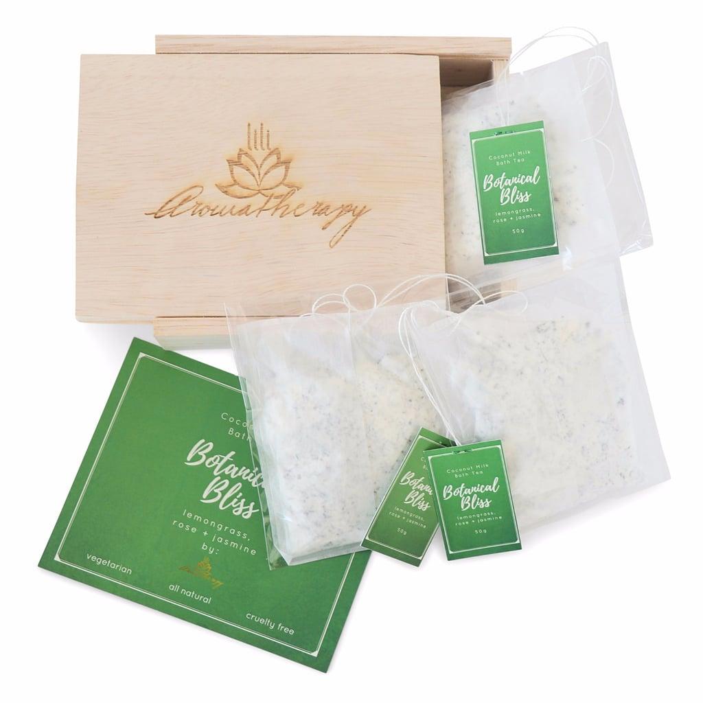 Lili Aromatherapy Botanical Bliss Coconut Milk Bath Tea Bags