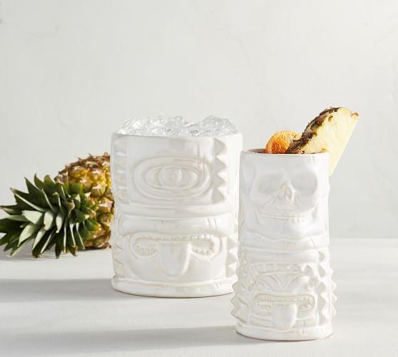 Tiki Ceramic Drinkware Collection