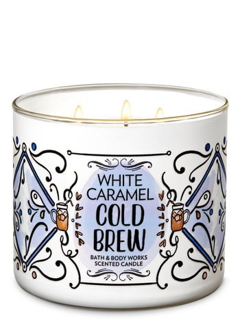 Bath And Body Works White Caramel Cold Brew