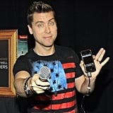 Lance Bass prepared to take his Dirty Pop Live show on the go. Source: Instagram user lancebass