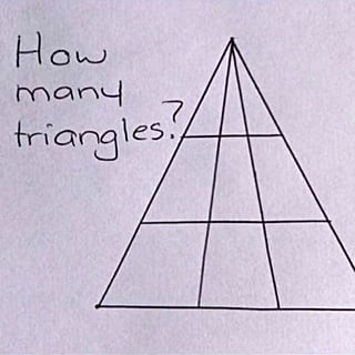 Triangle Brain Teaser