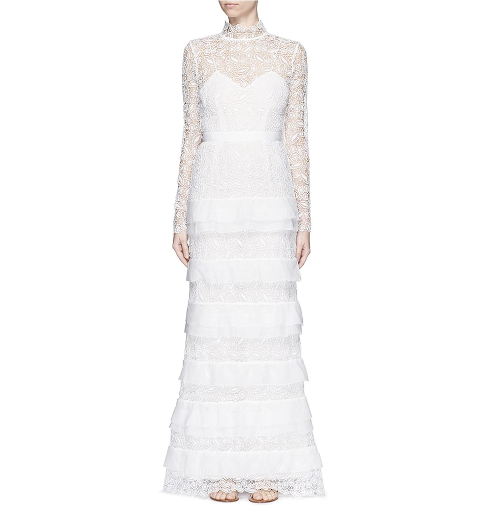 Affordable off the rack wedding dresses to buy now for Self portrait wedding dress
