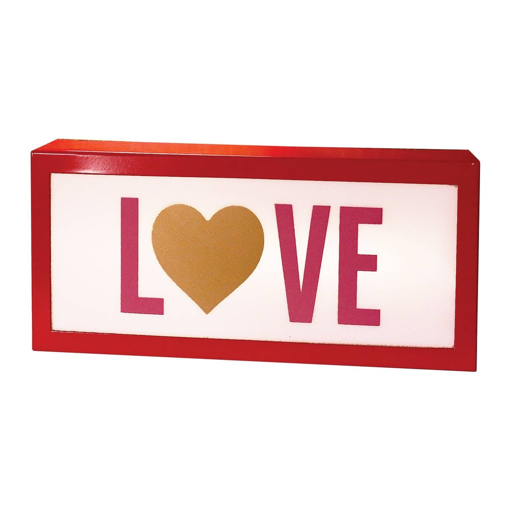 Love Lit Marquee Sign