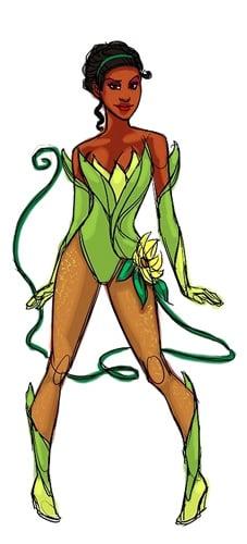 Superhero Tiana