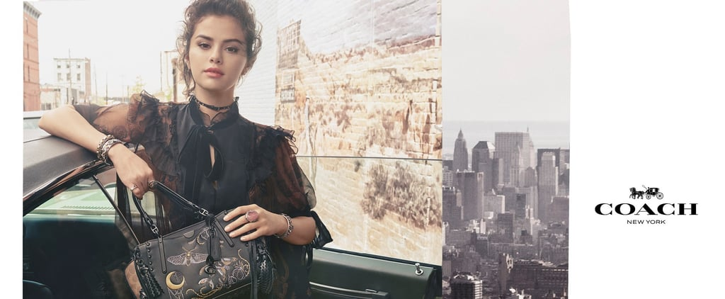 Selena Gomez Coach Campaign Fall 2018