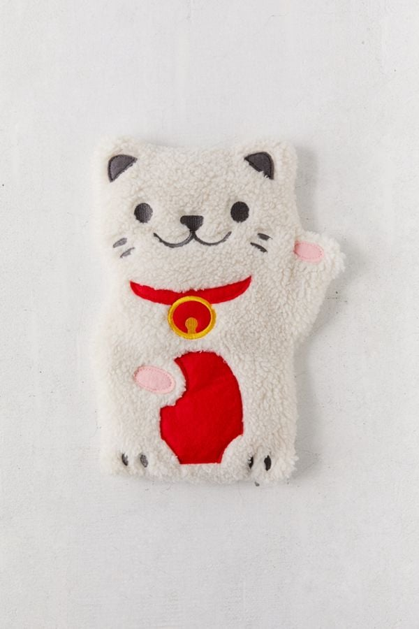 Huggable Lucky Cat Cooling + Heating Pad